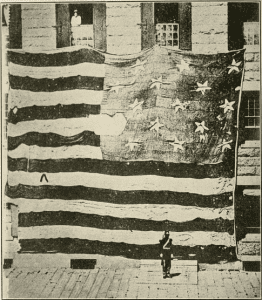 Flag that floated over Fort McHenry in 1814