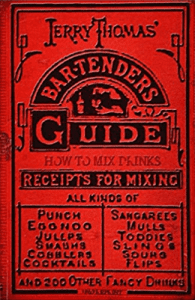 Jerry Thomas bar-tenders guide