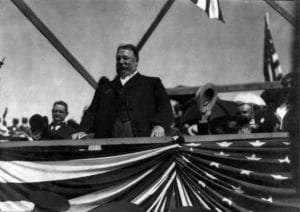 President Taft at the Grandstand at Ticonderoga provided by Fort Ticonderoga