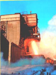 Rocket Test from Observation Bunker