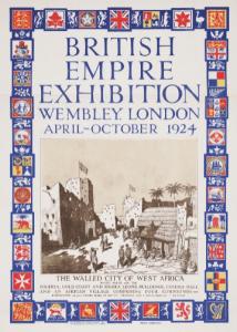 british empire exhibition poster