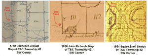 maps showing T andC Township 42