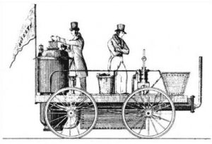 Contemporary drawing of Ericssons Novelty