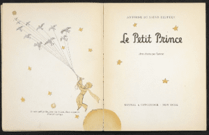 First print of Le petit prince