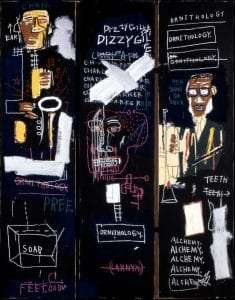 Horn Players 1983 by Jean-Michel Basquiat