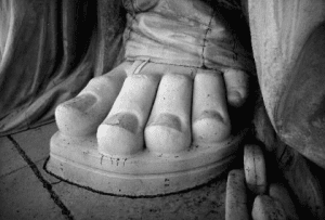 toes of Lady Liberty courtesy Library of Congress