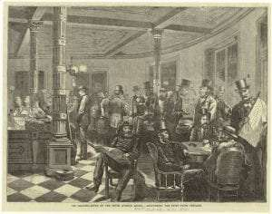 Fifth Avenue Hotel Reading Room (Oct 28, 1871, Every Saturday (Boston - Fields, Osgood and Co)