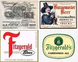 Fitzgerald Brothers beer ads