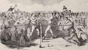 Morrissey Heenan Fight 1858 Leslies Illustrated