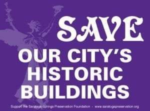 Save Our Citys Historic Building Sign