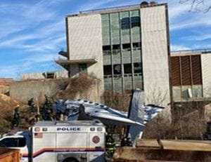 Small plane crash near Farmingdale State College