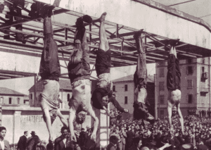 executed fascists in Piazza Loreto