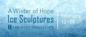 hyde collection ice sculptures