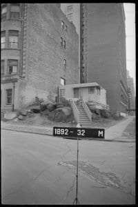 House on West 107th Street and Riverside Drive in 1940