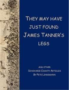 They May Have Found James Tanners Legs