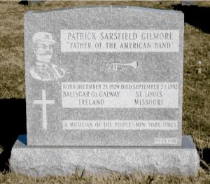 Gilmores gravestone at Calvary Cemetery