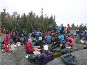 High Peaks overuse courtesy High Peaks Advisory Group