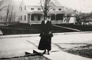 Tinker street courtesy Historical Society of Woodstock