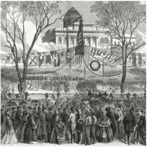 Inauguration of Michael Hahn on Lafayette Square