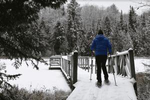 Paul Smith's College Visitor Interpretive Center Cross-Country Ski Trails provided
