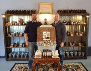 The Soap Guys of Tucker Spring Organics, Brent Carbino and Chad Graham