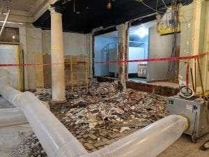 Buffalo History Museum construction