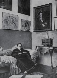 Gertrude Stein at 27 Rue de Fleurus