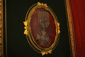 Hamonneaus Croix de Guerre medal