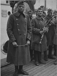 James Reese Europe and Harlem Hellfighters 369th Regt Band