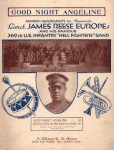 James Reese Europe sheet music