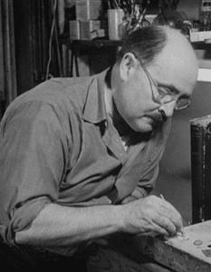 Maurice Hamonneau at work