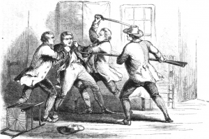 The Capture of Joe Bettys from United States Magazine, 1857 page 569