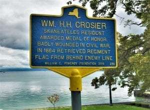WM HH Crosier Historic Marker