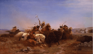 Wimar, The Buffalo Hunt