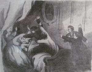 attack on the bedridden Secretary of State William H Seward