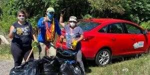Ausable River clean-up