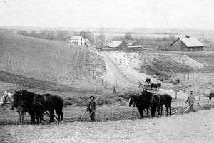 S. Timmons farm, Walla Walla County, ca. 1892  Photo by F. Fortin, Courtesy UW Special Collections (WAS0304)