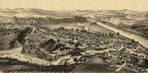 Schaghticoke, NY in 1889