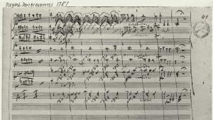 1787 score for Mozarts Don Giovanni