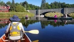 Ausable River Association guided paddle