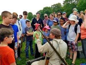 homeschool day courtesy fort ticonderoga