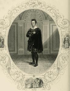 Edwin Forrest as Hamlet