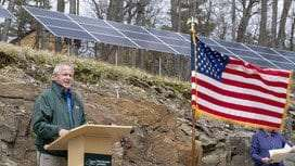 Grant Cottage solar panels