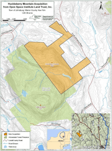Huckleberry Mountain parcel courtesy Open Space Institute