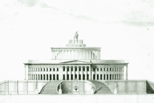 Marc-Isambard Brunels rejected design for the US Capitol Building in Washington
