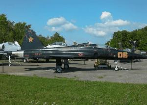 Northrup F-5 Tiger courtesy Empire State Aerosciences Museum