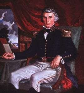 Portrait William Beaumont in US Army Dress Uniform
