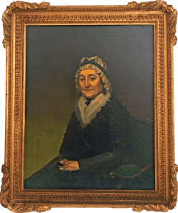 Portrait of Mrs Livingston
