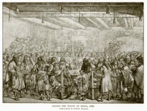 Signing of the Treaty of Breda