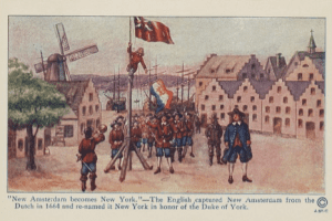 The moment that New Amsterdam became New York